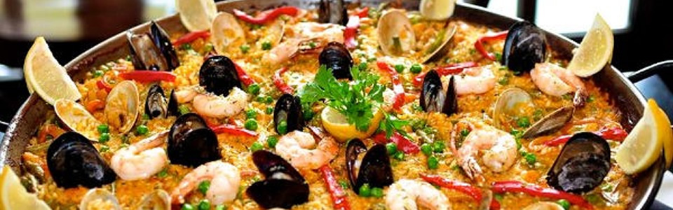 Spanish Paella Cooking Class at La Tasca with Paella Dinner, Tapas, Sangria, Dessert and Coffee on Wednesday, February 5, 2020 at 7:00 PM