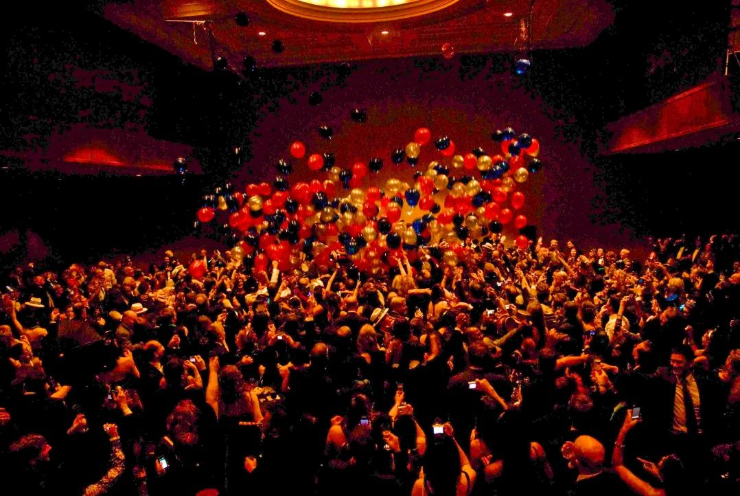 celebrate new years eve with a spectacular midnight balloon drops in the euro nightclub themed ballroom
